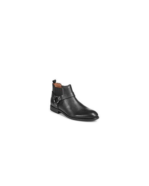 Frye   Black Scott Harness Chelsea Boots   Lyst