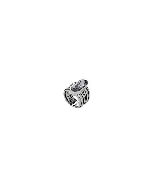 Uno De 50   Metallic Swarovski Crystal And Silver Ring   Lyst