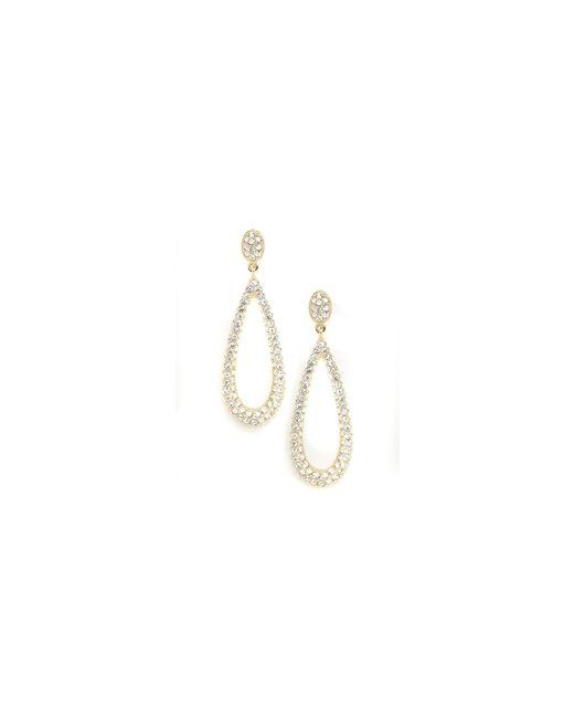 Nadri | Metallic Pave Teardrop Earring | Lyst