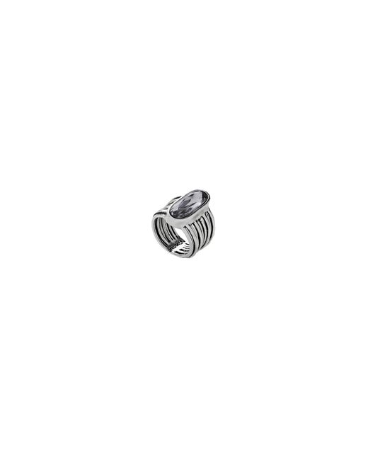 Uno De 50 | Metallic Swarovski Crystal And Silver Ring | Lyst