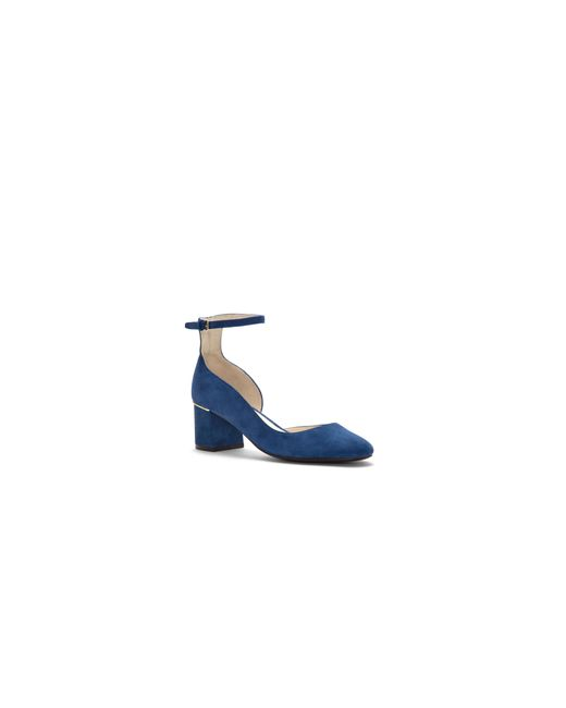 Cole Haan | Blue Grand Suede Pumps | Lyst