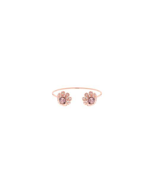 Ted Baker   Pink Seniie Swarovski Crystal Daisy Lace Bracelet   Lyst
