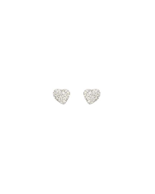 Swarovski | Metallic Alana Clear Crystal Pierced Earrings | Lyst