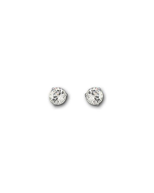 Swarovski   Metallic Solitaire Earrings   Lyst