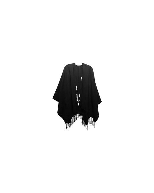 Laundry by Shelli Segal | Black Open Front Ruana | Lyst