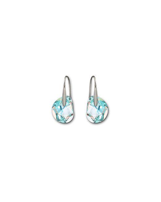 Swarovski   Blue Galet Pierced Earrings   Lyst
