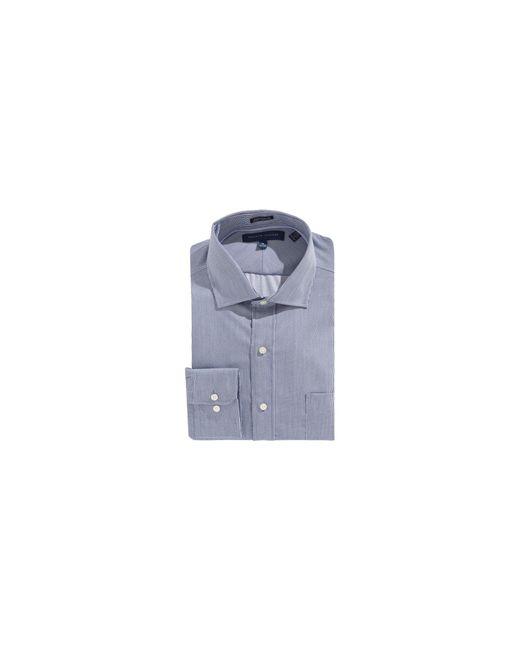 Tommy Hilfiger | Blue Egyptian Cotton Regular Fit Dress Shirt for Men | Lyst