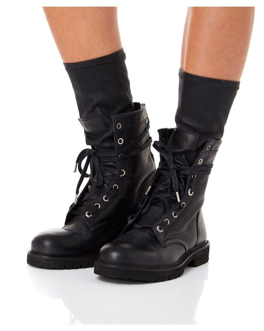 565003a1a6d12 Lyst - RTA Hybrid Combat Boots in Black - Save 37%