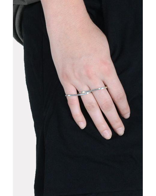 Vibe Harsløf | Multicolor 3 Finger Ring | Lyst