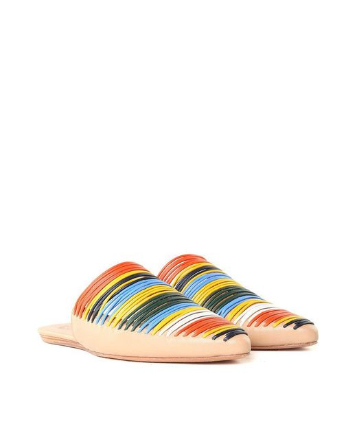 Tory Burch - Multicolor Sienna Pointy Mules - Lyst