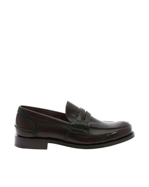 70b2ee40150 Lyst - Church s Tunbridge Brown Loafers in Brown for Men