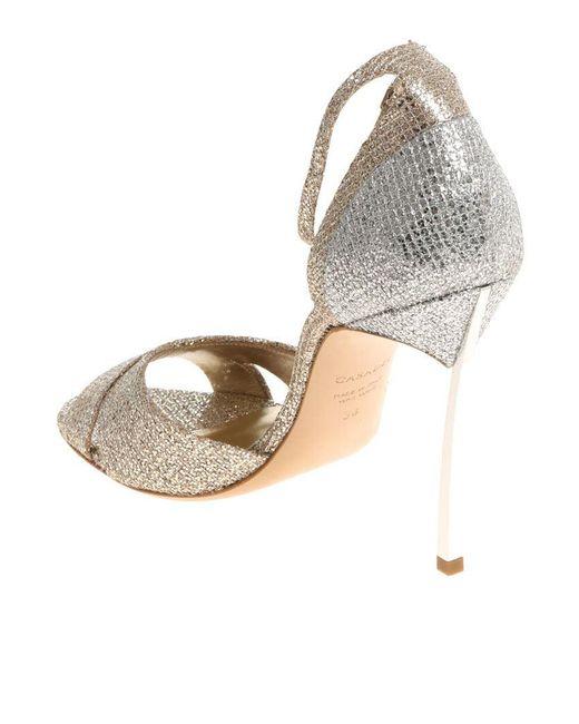 Golden Fata sandals Casadei rnsdB