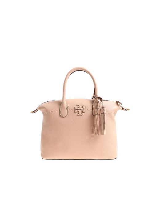 Tory Burch - Pink Mcgraw Slouchy Bag - Lyst