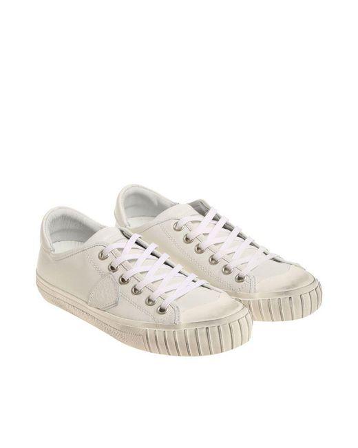 Philippe Model - White Gare L Sneakers for Men - Lyst