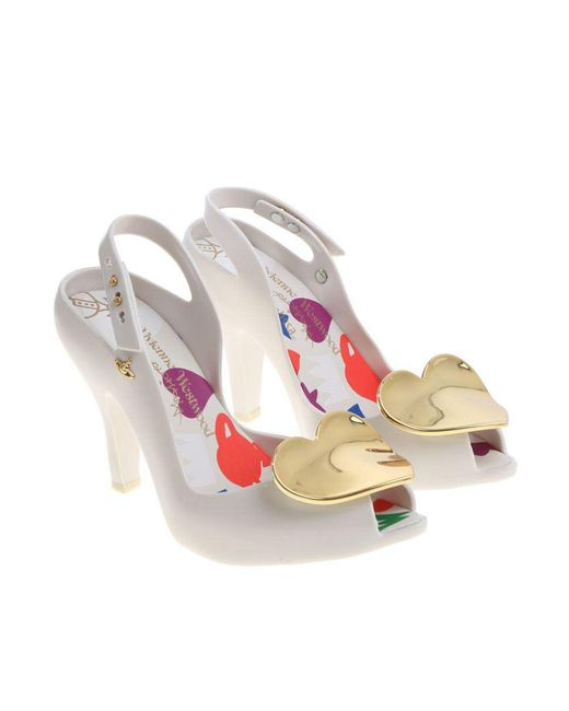 Melissa + Vivienne Westwood Anglomania - White Lady Dragon Shoes - Lyst