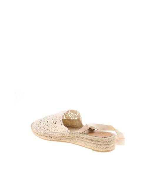 9c8d795af6ea ... Castaner - White Gabe Espadrilles In Lace In Ivory Color - Lyst ...