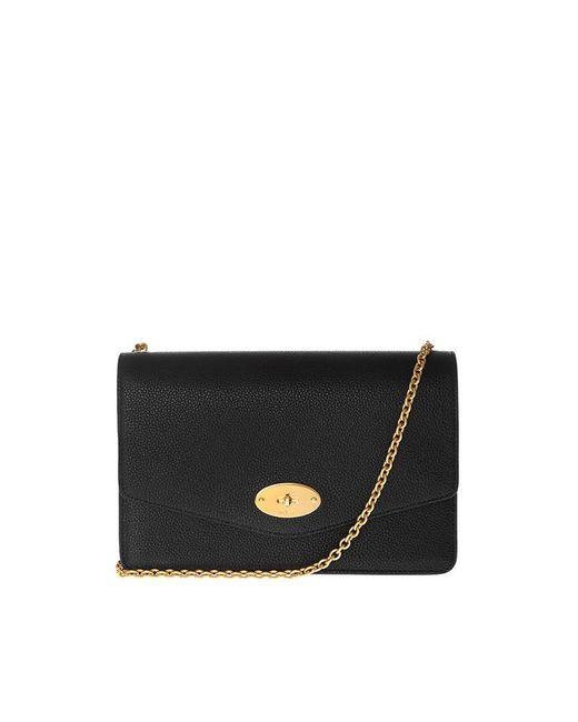 dd6a1a5ab2 Mulberry Darley Shoulder Bag In Black in Black - Save 1% - Lyst