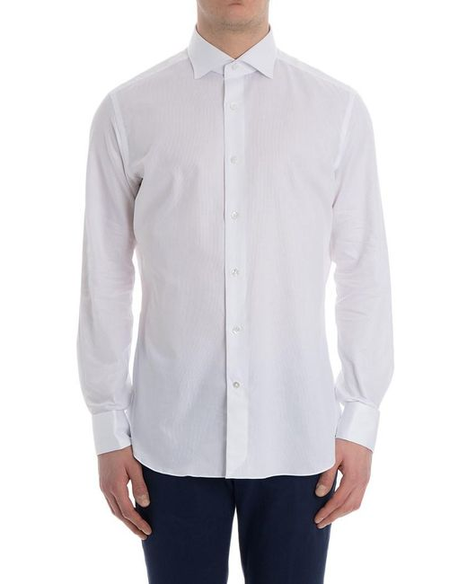 Truzzi - White Cotton T-shirt for Men - Lyst