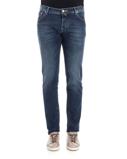Jacob Cohen - Blue 5 Pocket Jeans for Men - Lyst
