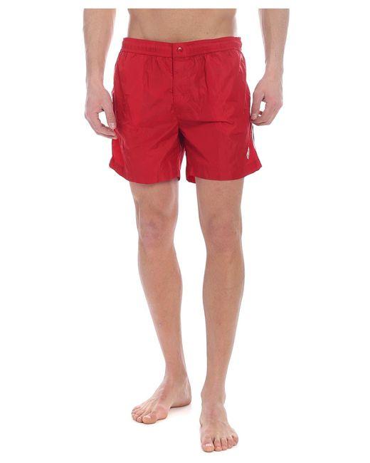 Moncler Red Swimsuit for men
