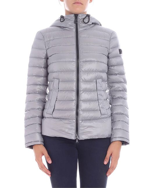 "Peuterey - Gray ""utah"" Grey Down Jacket - Lyst"