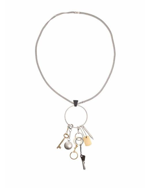 Maison Margiela - Metallic Brass Necklace - Lyst