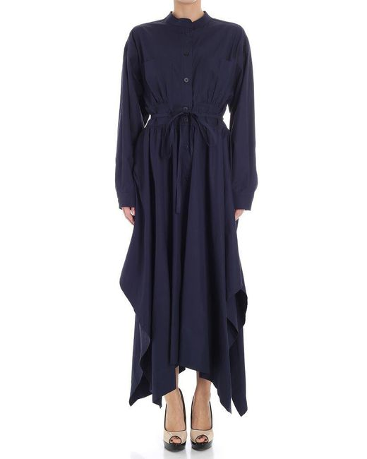 Sportmax - Blue Oblate Dress - Lyst