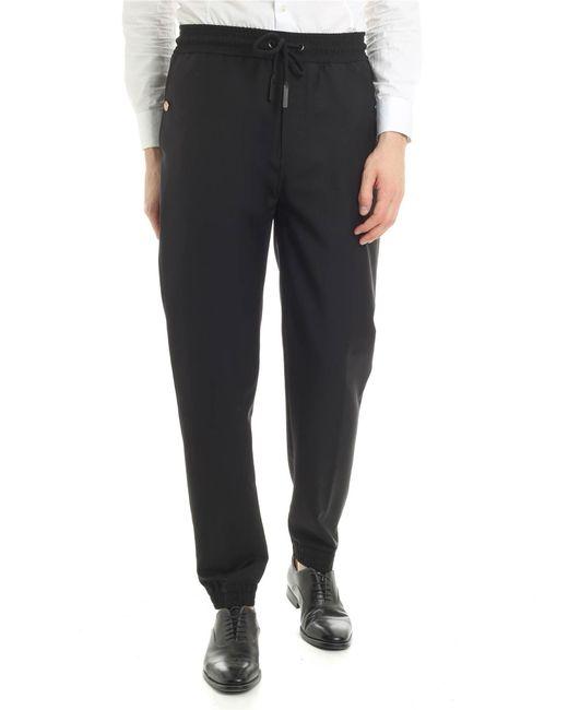 Givenchy - Black jogging Pants With Logo Details for Men - Lyst