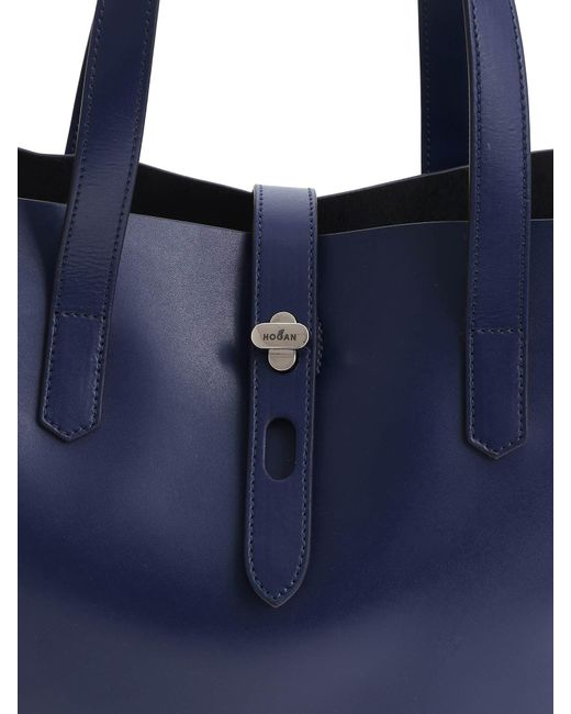 41982ab16f ... Hogan - Dark Blue Shoulder Bag - Lyst ...