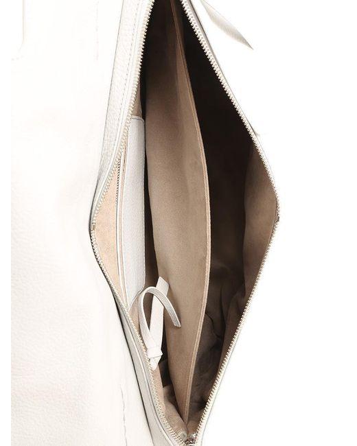 Light gray Nina M bag - Pure Cashmere Line Zanellato RAqzLy
