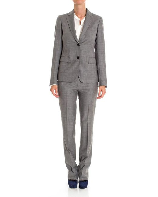 Mauro Grifoni - Gray Grey Pants Suit - Lyst