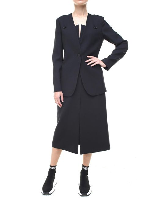 MM6 by Maison Martin Margiela - Two-piece Black Suit - Lyst