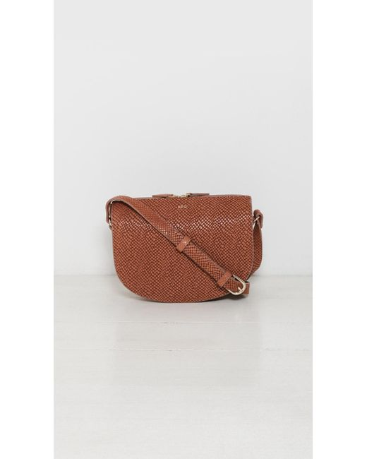 A.p.c. Andréa Bag in Brown