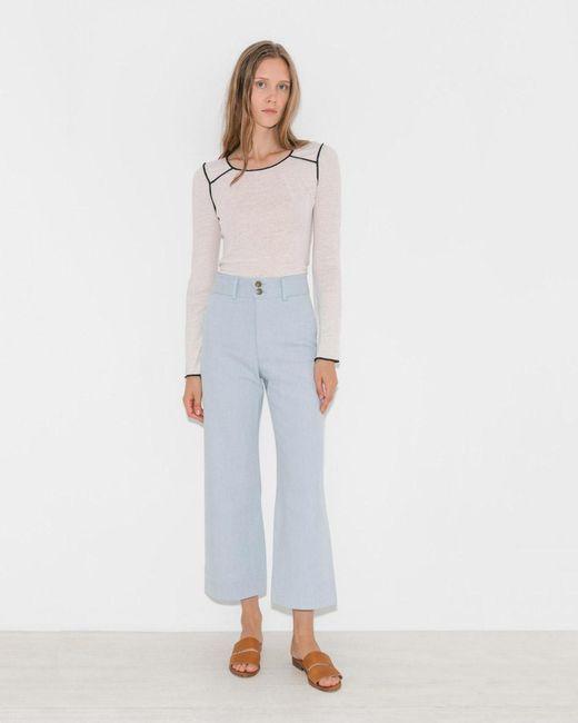 Apiece Apart | Blue Merida Denim Pants | Lyst