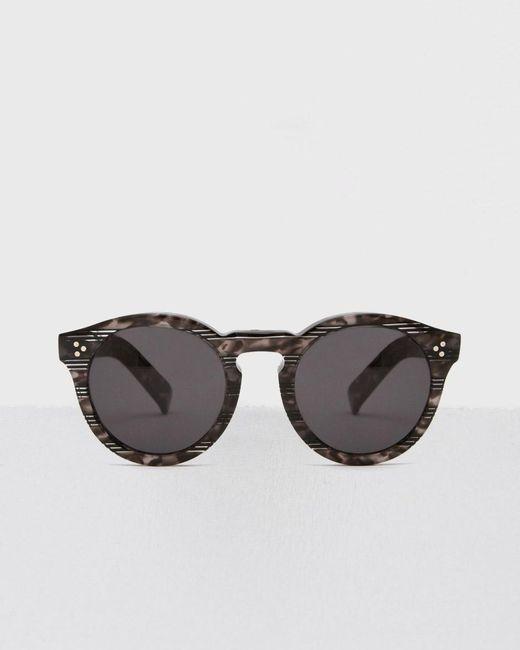 Illesteva - Black Spider Stripe Leonard Ii Sunglasses - Lyst