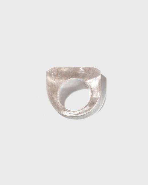 Kathleen Whitaker | Metallic Rock Ring | Lyst