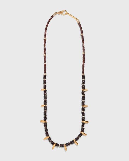 Lizzie Fortunato - Multicolor Garnet Pebble Necklace - Lyst