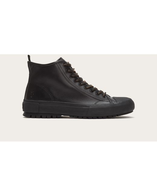 Frye | Black Ryan Lug Midlace for Men | Lyst