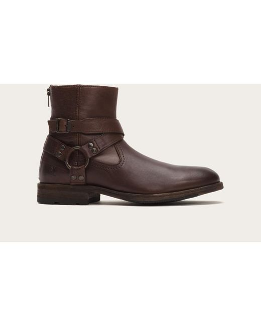 Frye   Brown Ethan Harness for Men   Lyst