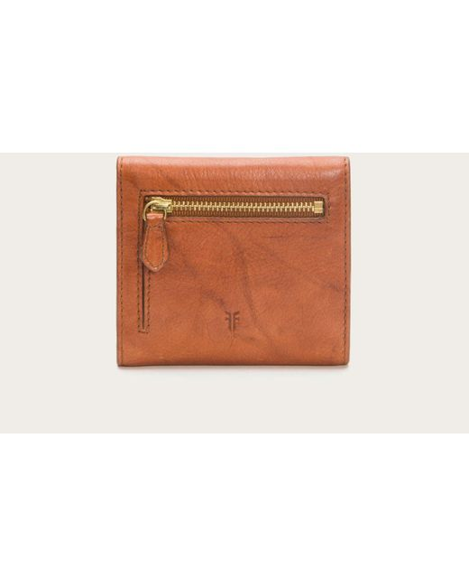 Frye | Brown Campus Rivet Medium Wallet | Lyst