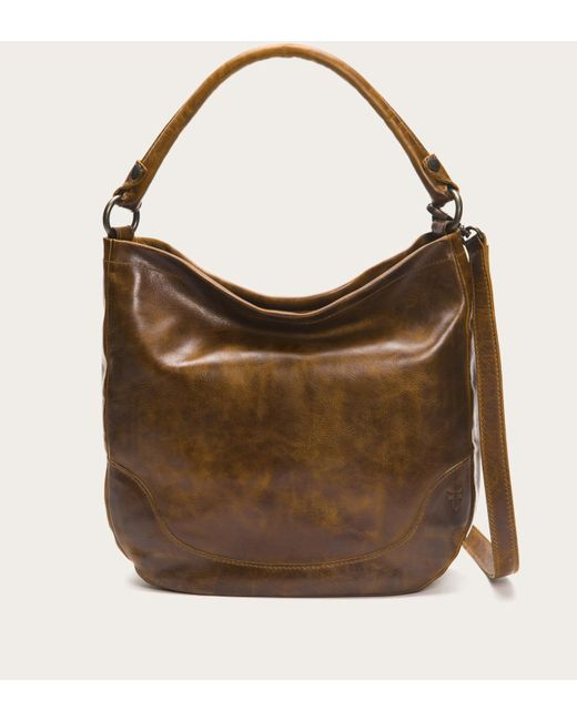 Frye - Brown Melissa Hobo - Lyst