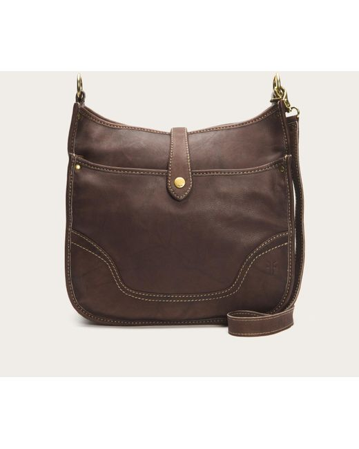 Frye | Brown Campus Crossbody | Lyst