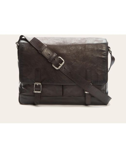 Frye | Gray Oliver Messenger for Men | Lyst