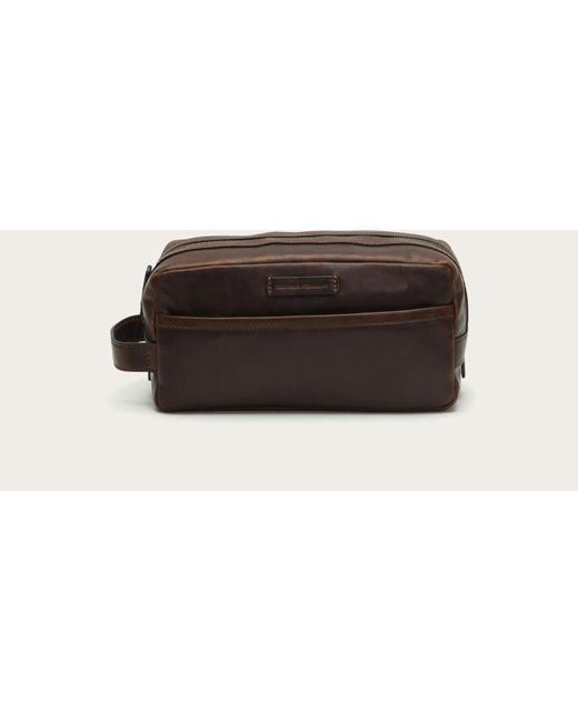 Frye | Brown Logan Travel Dopp Lg for Men | Lyst