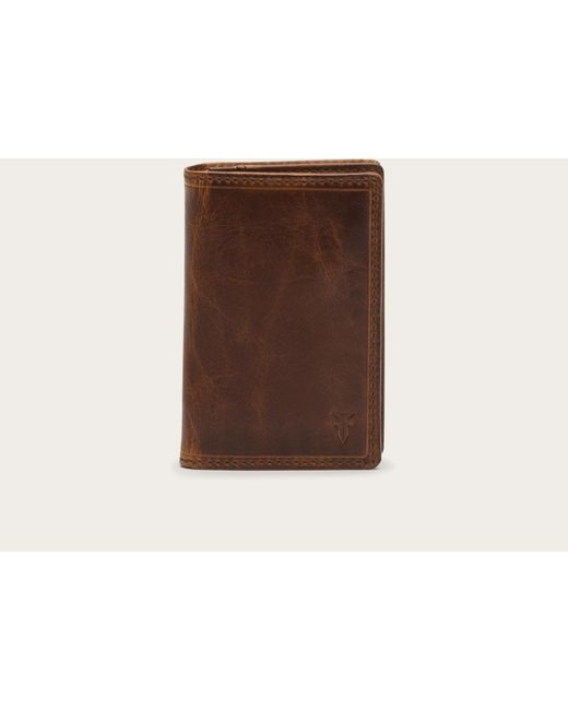 Frye | Brown Logan Wallet Small for Men | Lyst