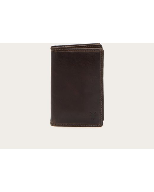 Frye - Brown Logan Wallet Small for Men - Lyst