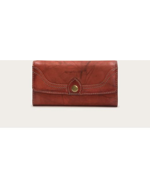 Frye | Red Campus Large Wallet | Lyst