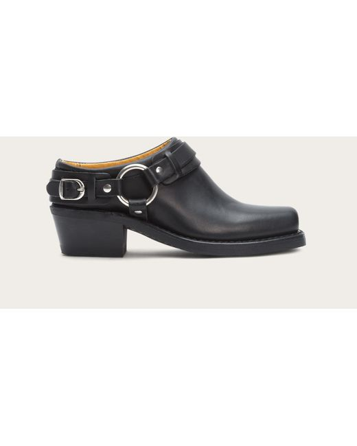 Frye - Black Belted Harness Mule - Lyst