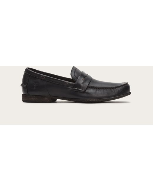 Frye | Black Lewis Leather Penny for Men | Lyst