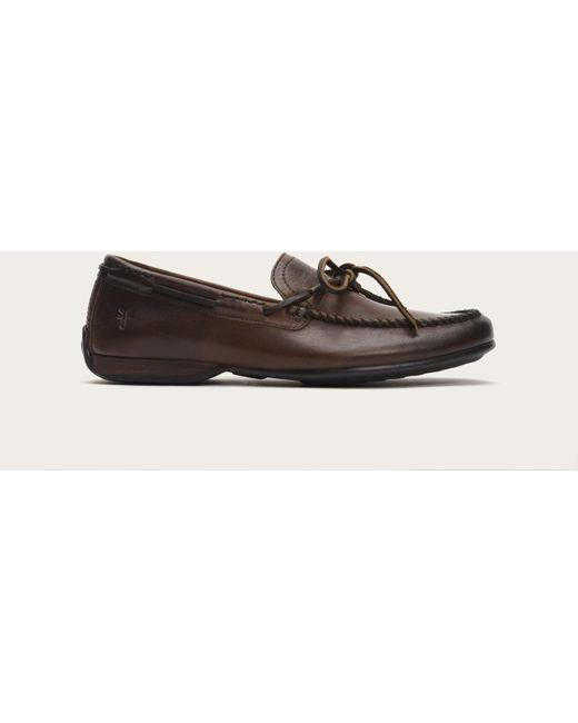 Frye | Brown Lewis Tie for Men | Lyst